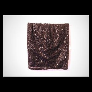 New with tags sequin mini skirt!